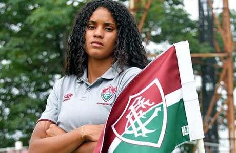 Tarciane é um dos destaques da equipe do Fluminense e tem 18 anos (Foto: MAILSON SANTANA/FLUMINENSE FC)