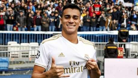 Formado no Ninho do Urubu, Reinier foi vendido ao Real Madrid em janeiro de 2020 (Foto: Divulgação)