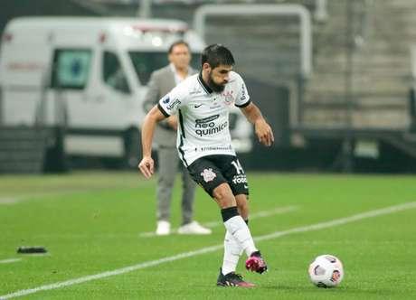 Bruno Méndez não se firmou na defesa corintiana como era esperado (Foto: Rodrigo Coca/Ag.Corinthians)