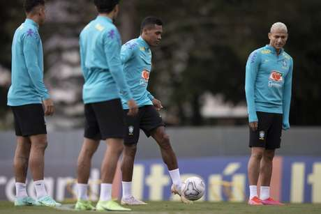 Seleção Brasileira já está garantida nas quartas de final da Copa América (Foto: Lucas Figueiredo/CBF)