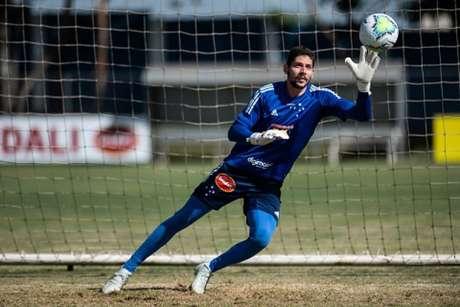 Lucas França é o atual reserva de Fábio e a Raposa não fez oposição em sua saída-(Bruno Haddad/Cruzeiro)