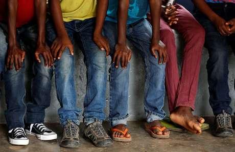 Crianças são usadas como soldados no Congo  14/3/2018   REUTERS/Thomas Mukoya