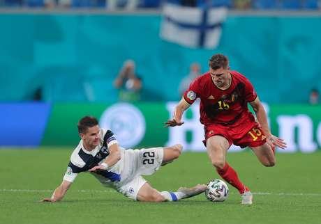 Bélgica confirma liderança no grupo B da Eurocopa com vitória contra Finlândia por 2 a 0
