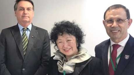 Wizard teria formado um conselho de especialistas, do qual Nise Yamaguchi (ao centro) fez parte, para aconselhar o governo Bolsonaro