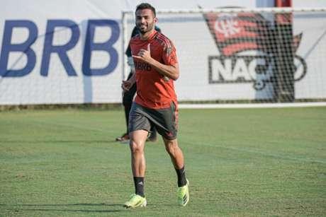Thiago Maia está perto de voltar à ação pelo time de Rogério Ceni (Foto: Alexandre Vidal / Flamengo)
