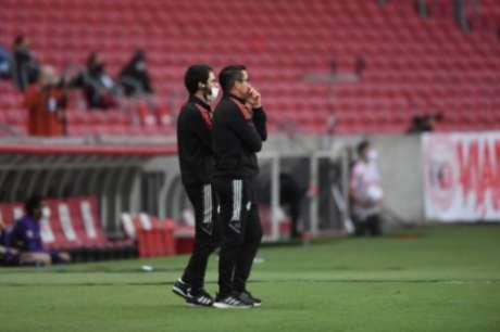 Treinador esteve no comando do Inter nos últimos três jogos (Ricardo Duarte)