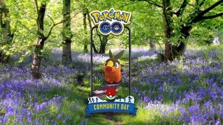 Tepig em Pokémon GO em julho