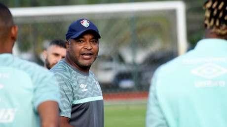 Roger Machado manteve a sequência invicta do Fluminense no Brasileirão (Foto: Mailson Santana/Fluminense FC)