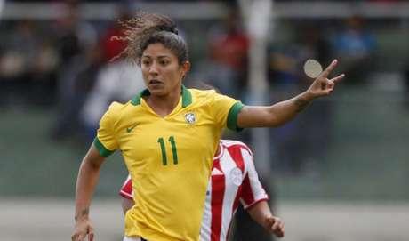 Cristiane é a maior artilheira da história das Olímpiadas (Foto: Divulgação)