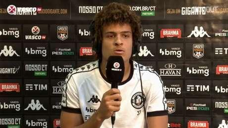 Neto Borges está fora dos planos do Vasco para a temporada (Reprodução / Dugout)