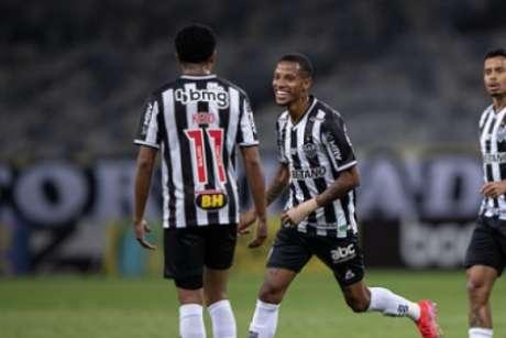 Tchê Tchê fez o gol alvinegro que abriu o placar no Mineirão-(Pedro Souza/Atlético-MG)
