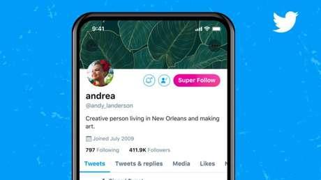 Super Follow do Twitter
