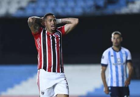 Luciano convive com lesões no São Paulo (Foto: STAFF CONMEBOL)