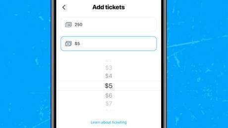 Tickets do Twitter Spaces podem variar entre US$ 1 ou US$ 999