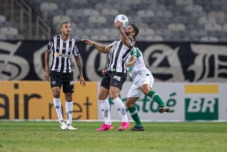 Hulk deixou o jogo contra a Chape bravo e reclamou da arbitragem-(Pedro Souza/Atlético-MG)