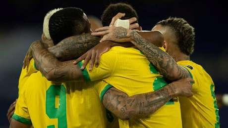 O Brasil obteve vitórias sobre Venezuela e Peru até o momento (Foto: Lucas Figueiredo/CBF