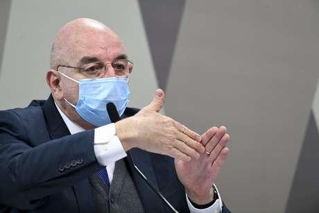 Ex-ministro da Cidadania, deputado Osmar Terra (MDB-RS) em pronunciamento.