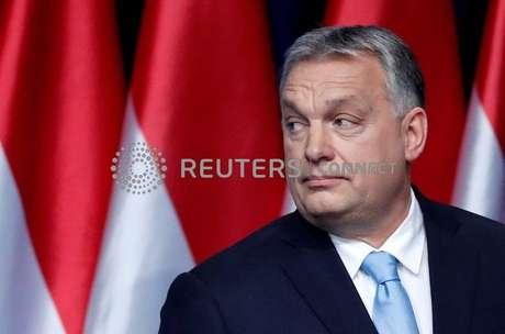 Premiê húngaro, Viktor Orbán 10/02/2019 REUTERS/Bernadett Szabo