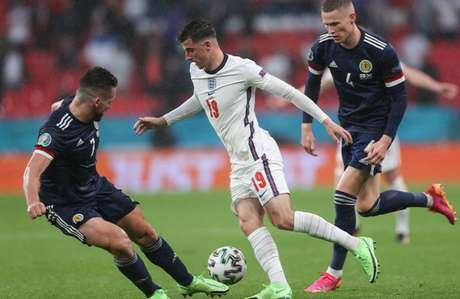 A Inglaterra entra em campo pela Eurocopa nesta terça-feira (22) (Foto: CARL RECINE / POOL / AFP)