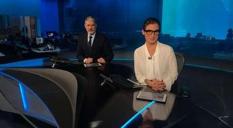 Bonner e Renata já foram alvo de ofensas disparadas por Jair Bolsonaro