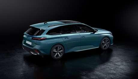 Novo Peugeot 308 SW está disponível em duas versões híbridas e uma a gasolina.