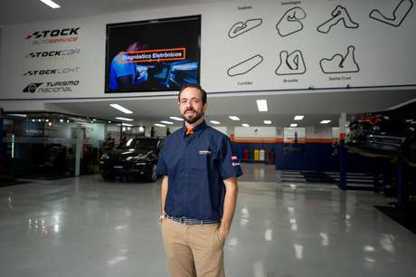 Fabio Aires, CEO da Stock Auto Service: atendimento com a atmosfera das corridas.