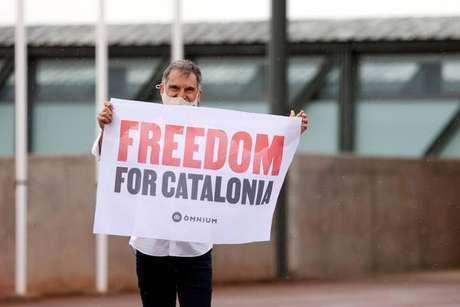 Jordi Cuixart, representante da sociedade civil beneficiado pelo indulto