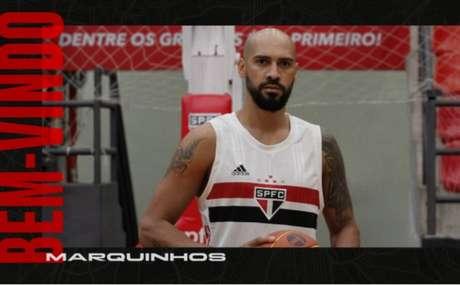 Marquinhos é o novo reforço do São Paulo para o basquete (Foto: Divulgação/São Paulo)