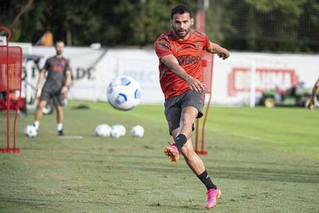 Thiago Maia está de volta à disposição de Rogério Ceni no Flamengo (Foto: Alexandre Vidal/Flamengo)