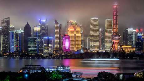 Shanghai's landscape is dotted with skyscrapers