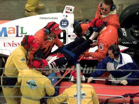 O acidente de Sam Schmidt, em 2000
