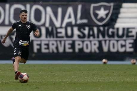 Ronald em ação pelo Botafogo (Foto: Vítor Silva/Botafogo)