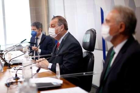 Reunião da CPI da Covid no Senado 10/06/2021 REUTERS/Adriano Machado