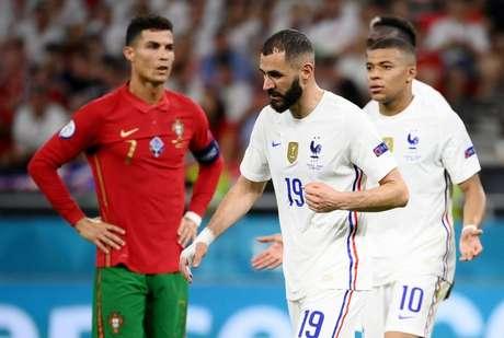 França e Portugal empatam na Euro  23/6/2021   REUTERS/Franck Fife