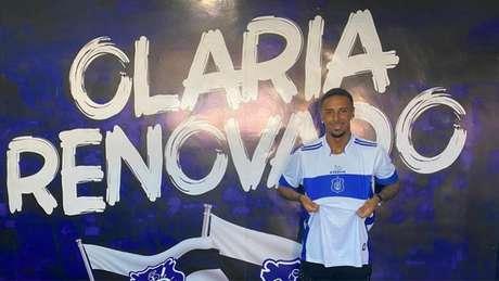 Jovem Vini Freitas acertou com o Olaria (Foto: CTC/Marketing)
