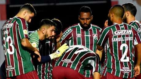 Fluminense empatou nas três partidas que jogou fora de casa (Foto: Mailson Santana / Fluminense FC)