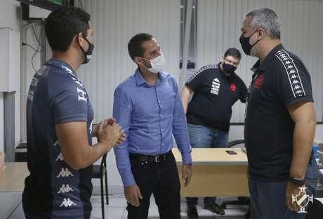 Rodrigo Dias chega ao Vasco para ser o novogerente do Departamento de Futebol de Base(Rafael Ribeiro/Vasco)