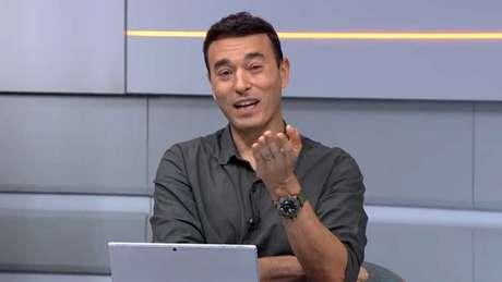 Rizek repercutiu caso de racismo pelas redes sociais (Foto: Reprodução/SporTV)