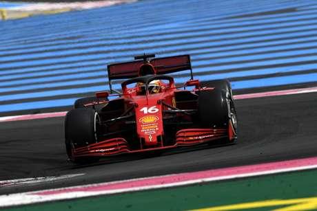 Charles Leclerc foi apenas o 16º no GP da França