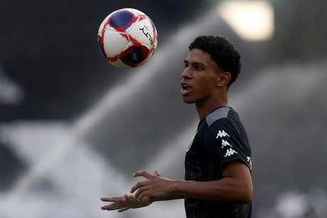 Paulo Victor pelo Botafogo (Foto: Vítor Silva/Botafogo)