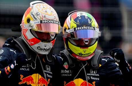 Sergio Pérez tem boa relação com Max Verstappen