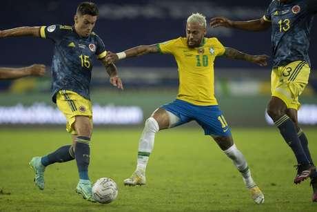 Jogo do Brasil contra a Colômbia não foi suficiente para SBT ficar à frente da Globo (Foto: Lucas Figueiredo/CBF)