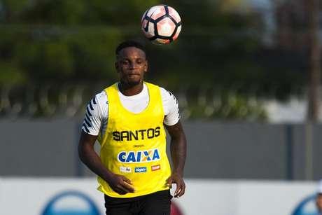 Cléber Reis reclamou do tratamento que recebe da diretoria do Santos (Foto: Ivan Storti/Santos FC)