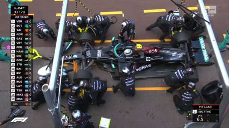 Desastre para Valtteri Bottas, fora do GP de Mônaco após problemas no pit-stop