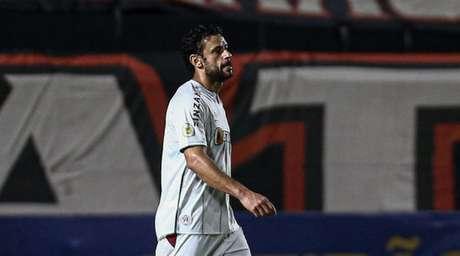 Fluminense perdeu para o Atlético-GO fora de casa no Brasileirão (Foto: Lucas Merçon/Fluminense FC)