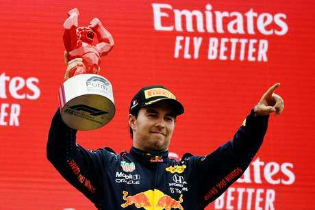 Sergio Pérez vive bom momento na Red Bull