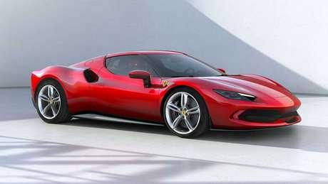 Ferrari 296 GTB é o primeiro modelo da marca com motor V6 desde o Ferrari Dino.