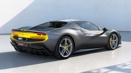 Ferrari 296 GTB pode contar com pintura inspirada no modelo 250 LM de 1963.