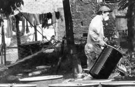 O lixo atômico na região foi depositado em Abadia de Goiás (Foto: Reprodução)