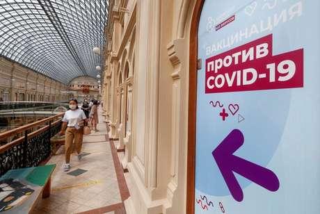 Local de vacinação contra a Covid-19 em Moscou 25/06/2021 REUTERS/Shamil Zhumatov
